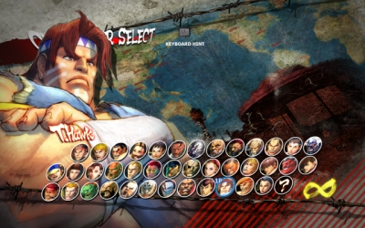 Screen ze hry Super Street Fighter IV