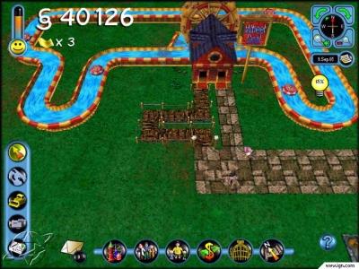 Screen ze hry Simcoaster