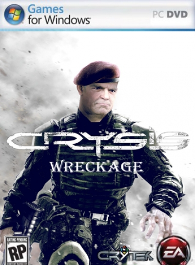 Obal hry Crysis Wreckage