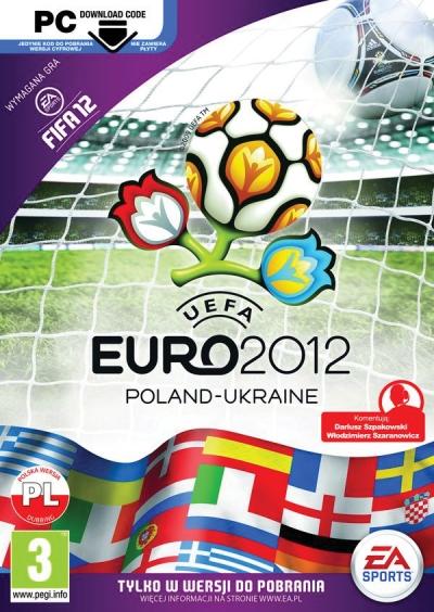 Obal hry UEFA EURO 2012