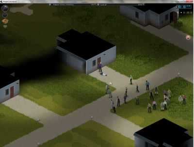 Screen ze hry Project Zomboid
