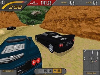 Screen ze hry Need for Speed II