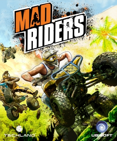 Obal hry Mad Riders