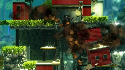 Screen ze hry Bionic Commando: Rearmed