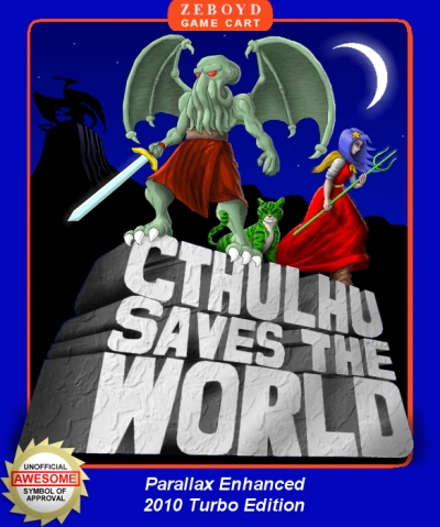 Obal hry Cthulhu Saves the World