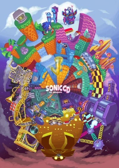 Obal hry Sonic CD