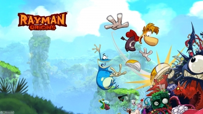 Artwork ke hře Rayman Origins