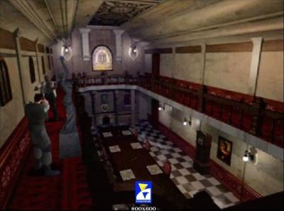 Screen ze hry Resident Evil