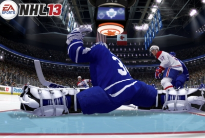 Screen ze hry NHL 13