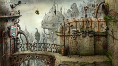 Screen ze hry Machinarium