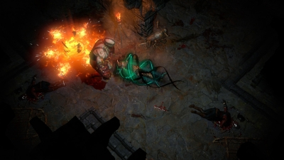 Screen ze hry Path of Exile