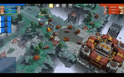 Screen ze hry AirMech