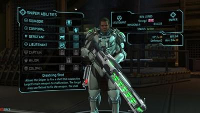Screen ze hry XCOM: Enemy Unknown