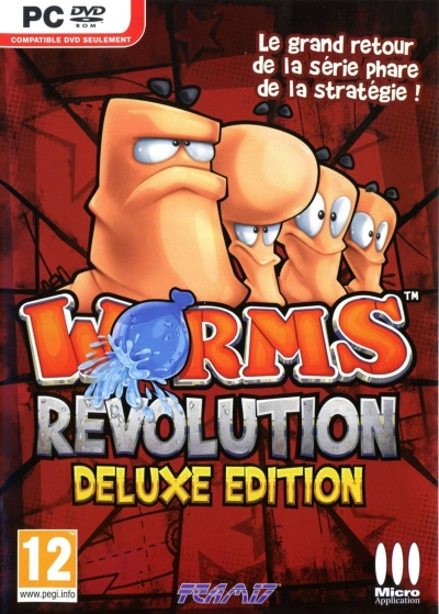 Obal hry Worms Revolution