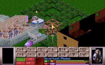 Screen ze hry X-COM: UFO Defense