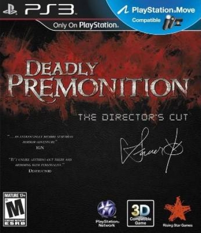Artwork ke hře Deadly Premonition