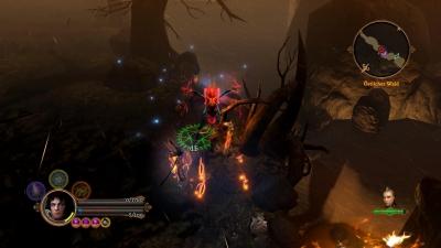 Screen ze hry Dungeon Siege III