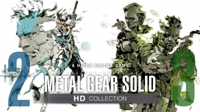 Artwork ke hře Metal Gear Solid HD Collection