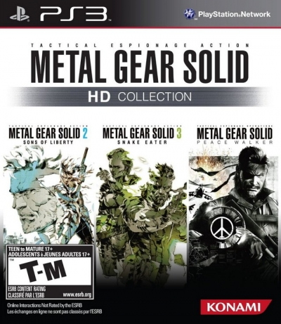 Obal hry Metal Gear Solid HD Collection