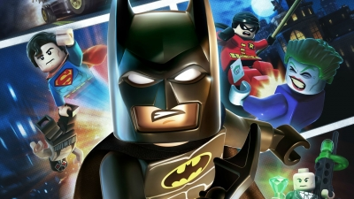 Artwork ke hře LEGO Batman 2: DC Super Heroes