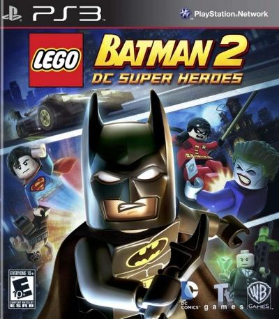 Obal hry LEGO Batman 2: DC Super Heroes