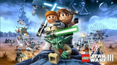 Artwork ke hře LEGO Star Wars III: The Clone Wars