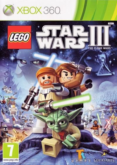 Obal hry LEGO Star Wars III: The Clone Wars