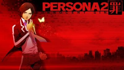 Artwork ke hře Shin Megami Tensei: Persona 2 Innocent Sin