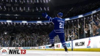 Screen ze hry NHL 13