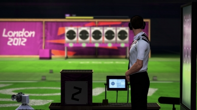 Screen ze hry London 2012 - The Official Video Game of the Olympic Games
