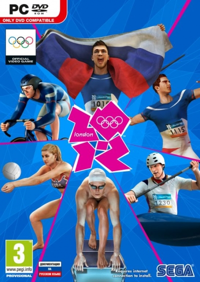 Obal hry London 2012 - The Official Video Game of the Olympic Games