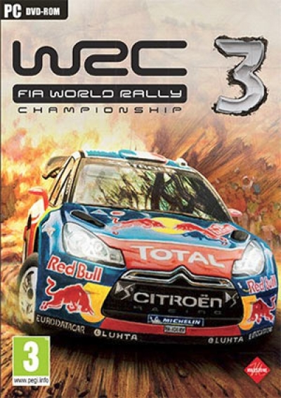 Obal hry WRC 3 - FIA World Rally Championship 3