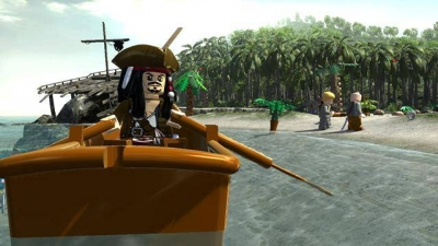 Screen ze hry LEGO Pirates of the Caribbean: The Video Game