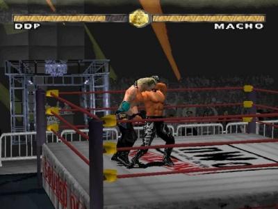 Screen ze hry WCW Nitro