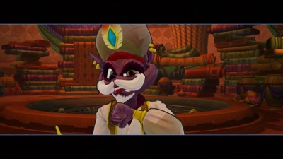 Screen ze hry Sly Cooper: Thieves in Time