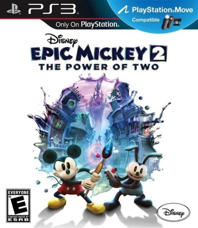 Obal hry Disney Epic Mickey 2: The Power of Two