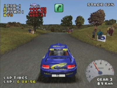 Screen ze hry Need for Speed: V-Rally 2