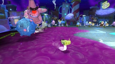 Screen ze hry SpongeBob´s Truth or Square