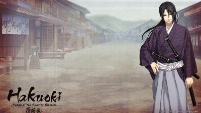 Artwork ke hře Hakuoki: Demon of the Fleeting Blossom
