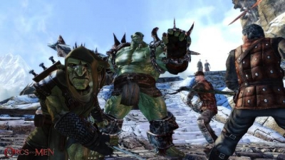 Screen ze hry Of Orcs and Men