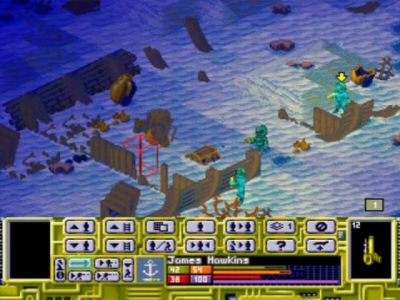 Screen ze hry X-COM: Terror from the Deep