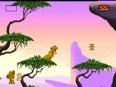 Screen ze hry Disney´s The Lion King