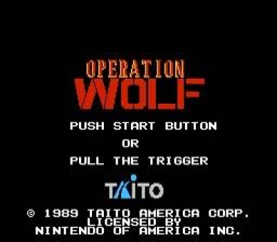 Screen ze hry Operation Wolf