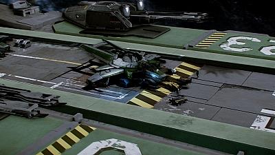 Screen ze hry Star Citizen
