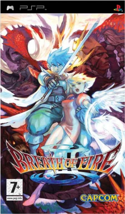 Obal hry Breath of Fire III