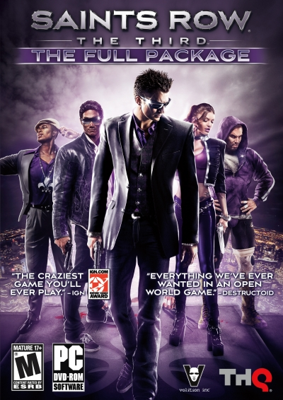 Obal hry Saints Row: The Third The Full Package