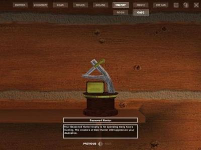 Screen ze hry Deer Hunter 2005