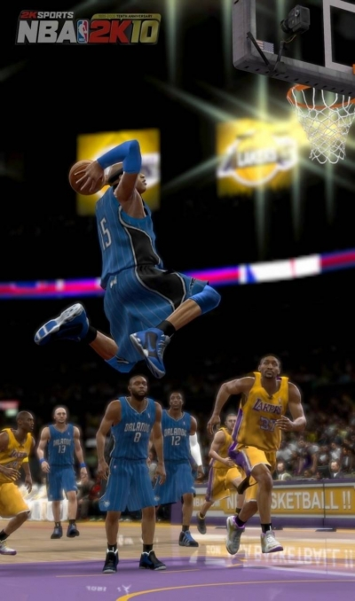 Artwork ke hře NBA 2K10