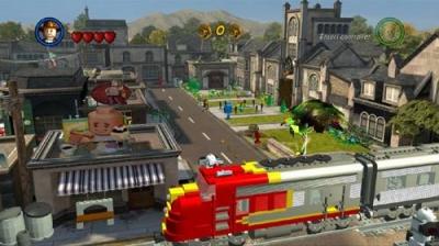 Screen ze hry LEGO Indiana Jones 2: The Adventure Continues