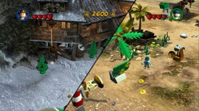 Screen ze hry LEGO Indiana Jones 2: The Adventure Continues